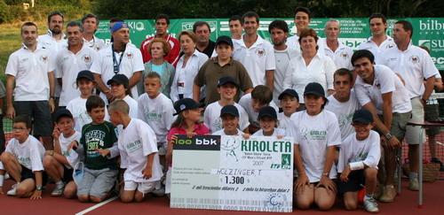 El alemán Tony Holzinger campeón del XXIII Open Kiroleta de Bakio
