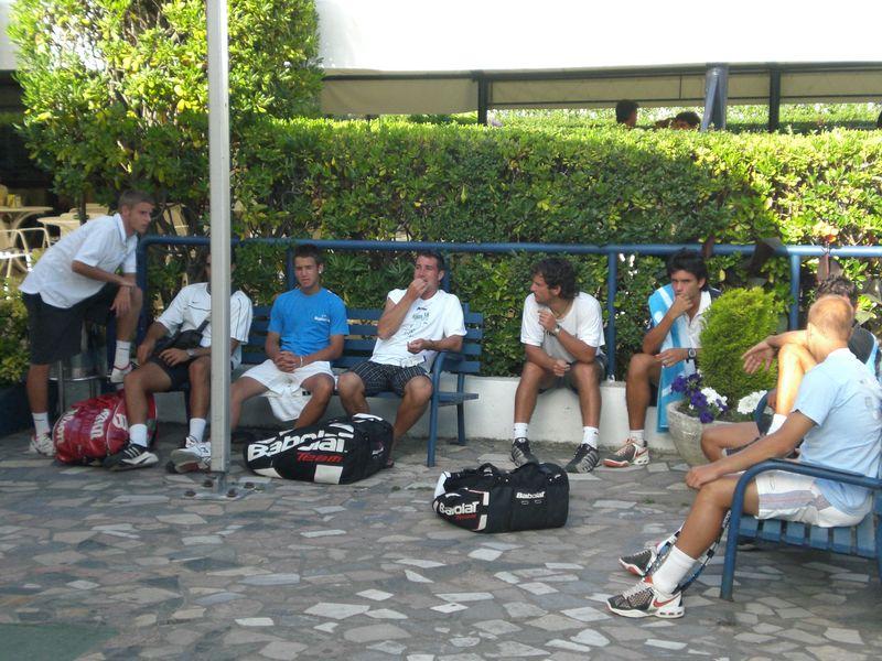 XXIV Open Kiroleta 'Bakio Udala' Saria - Tenistas en el Club