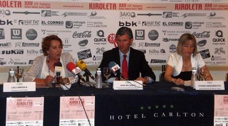 Rueda de Prensa presentación Open Kiroleta 2009