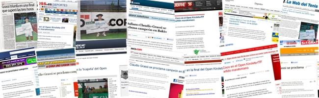 Open Kiroleta 2011 en la prensa