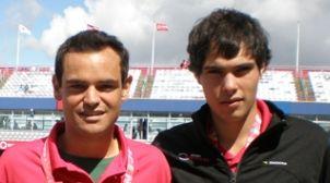 Félix Torralba y Nacho Forcadell