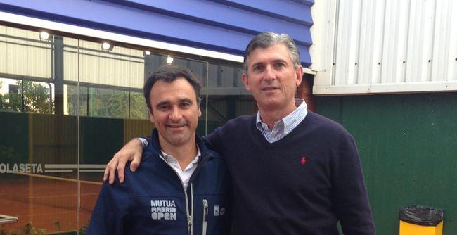Alberto Berasategui e Igor del Busto en Jolaseta