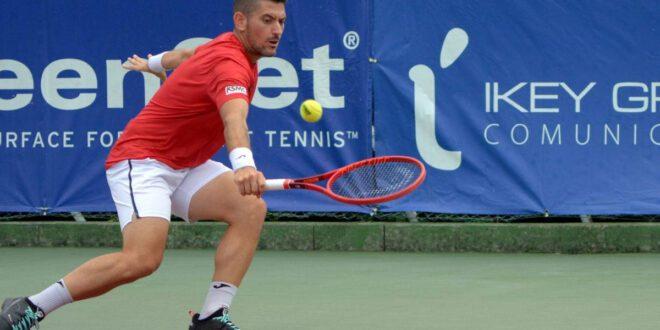 Roberto Ortega, uno de los favoritos en el 36 Open Kiroleta Bakio