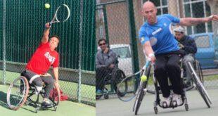 Tenis en silla de rueda en Open Kiroleta