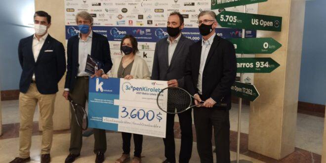 36ª edición del ITF Futures Open Kiroleta - 'Bakio Udala' Saria