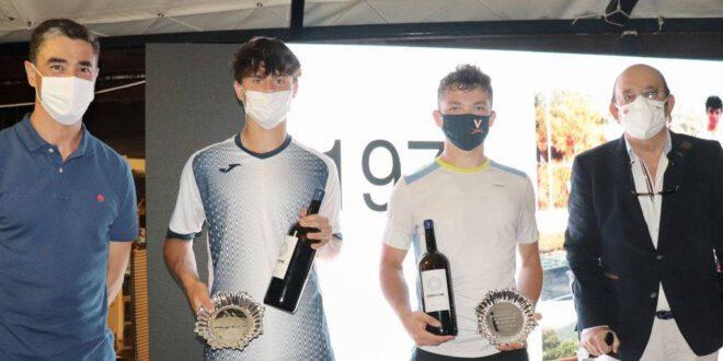 Antonio Prat e Iñaki Montes campeones en dobles del Open Kiroleta
